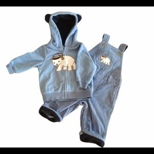 Gymboree Polar Bear Bundle of Two, 6-12mos